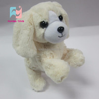 Big ears real-look standing dog plush toys
