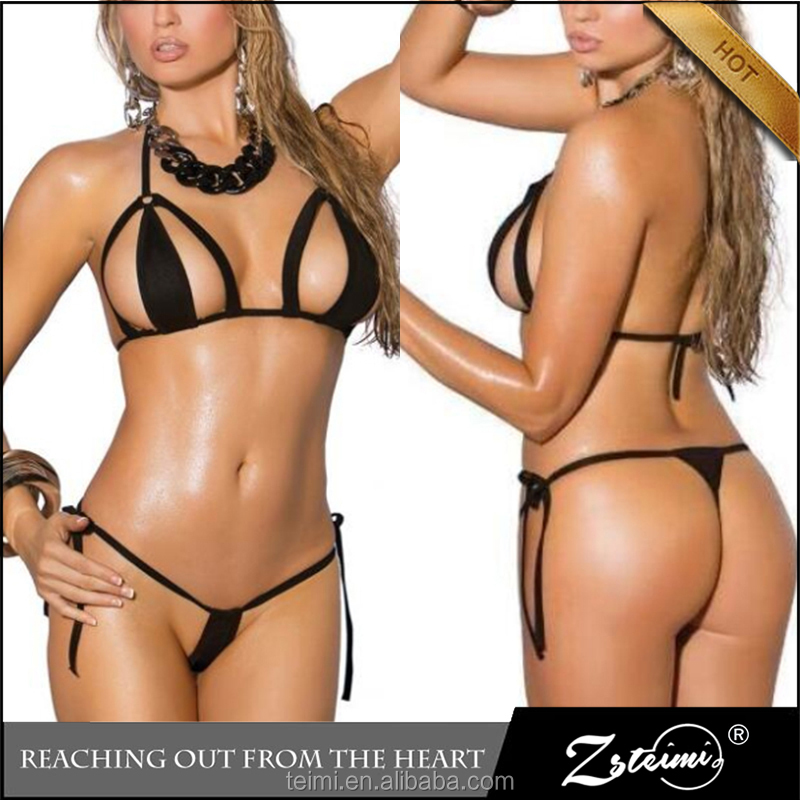 2017 Hot Brazilian Open Girl Swimwear Micro Bikini Models Microkini Beach Bikini