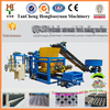 one belt one road QT4-25d Cement / Concrete /Fly ash blocks making machinery Popular Overseas