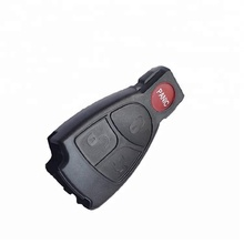 ZPARTNERS RFID 4 button Car <strong>key</strong> shell Custom Car <strong>Key</strong> FOB Lock Box Smart <strong>Key</strong> for Benz