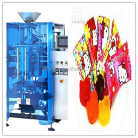 Electronic plastic film packaging machine for candy/sweet/jelly/sugar