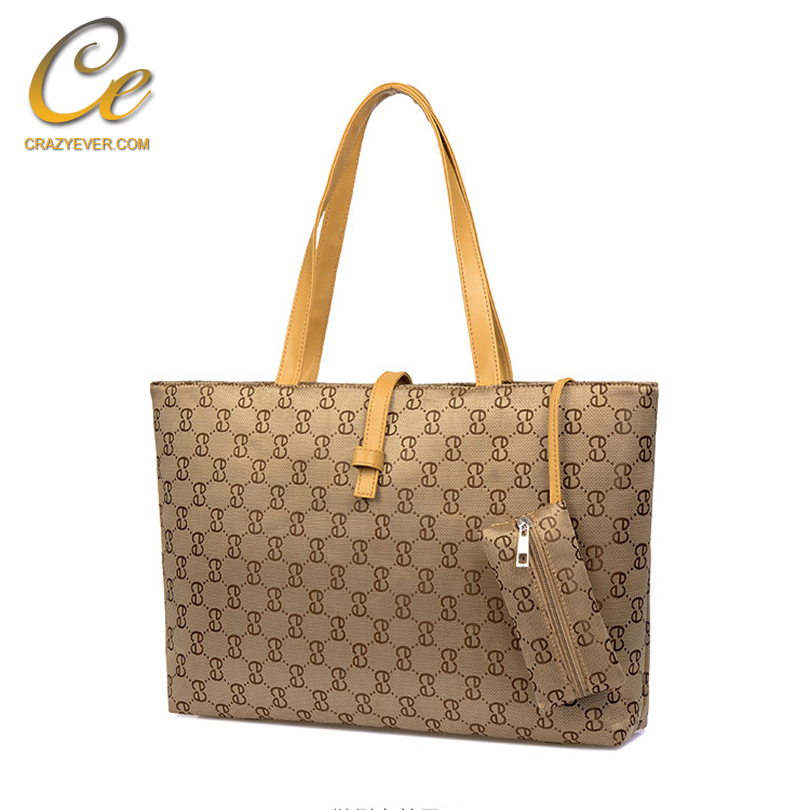 Second Hand Travel Bag Quality Custom Leather Tote Bag Wholesale Handbag China