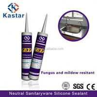 high quality neutral sanitary anti fungal silicone sealant