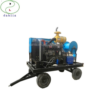 industrial high pressure seweage pipe cleaning machine for Housing estate, hotel, restaurant, factory sewer pipe cleaning