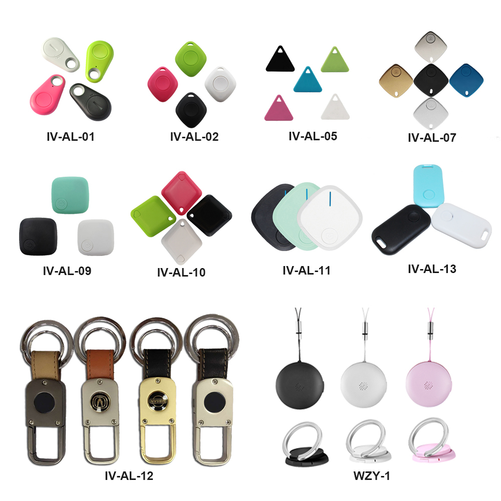 Small lovely wireless bluetooth smart key finder with gps tracker selfie remote shutter photo taker for cell phones