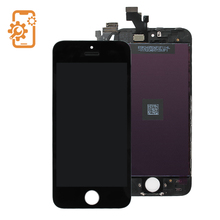 Wholesale front assembly lcd display + touch screen digitizer for iPhone 5 5G Black & white