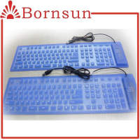 Silicone arabic keyboard cover for tablet computer