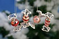 Good Quality China Supply Professionl Glass Candy Christmas Ornaments