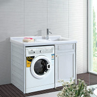 GD8907 Modern laundry sink cabinet for washing machine