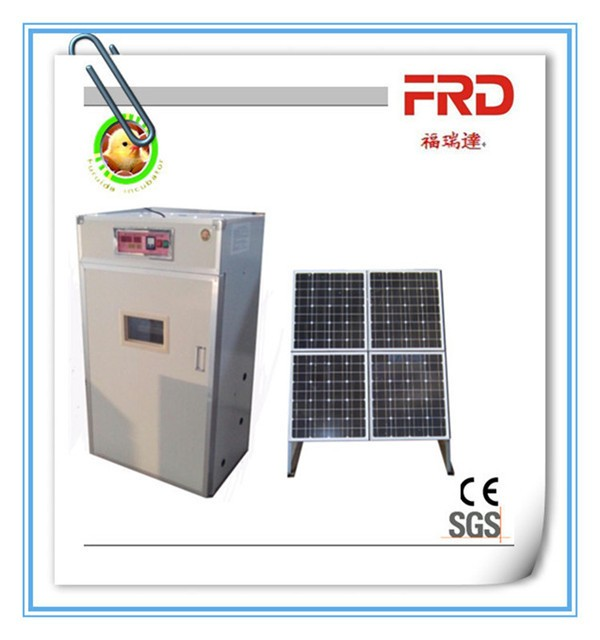 FRD 2112 capacity quail egg incubator for sale with solar
