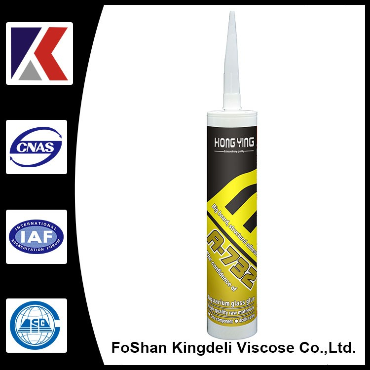 High quality acid silicone sealants HY-732 aquarium 300ml