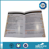 Economic export multi page catalogue print catalog book