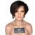 Short Straight Human Hair Wig Bob Cut Full Lace Wigs For Black Women