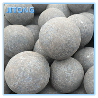 Dia30,40,50mm steel grinding balls with forging process