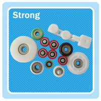 factory price customized made plastic pulley,roller pulley wheel used in drawer