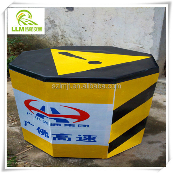 Direct manufacture octagonal FRP anti-bump barrel fiberglass bucket