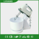 150W electric stand egg mixer with rotating bowl CE ROHS