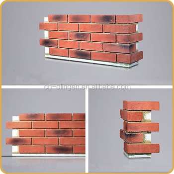 Easy Installation Brick Wall Panels With Xps Backer Board