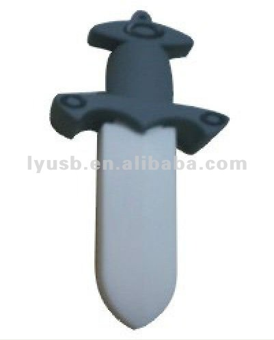 cool mini sword thumb driver usb2.0 sabre shape 1gb~32gb