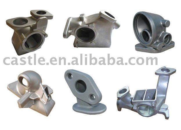 stainless steel aluminum die casting compressor part