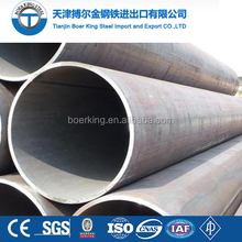 ASTM A252 Carbon Spiral Round Welded Steel pipe and tube