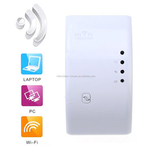WiFi Range Extender 300Mbps WiFi Repeater Wireless Access Point Signal Booster Amplifier