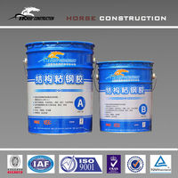HM steel bonded adhesive for concrete