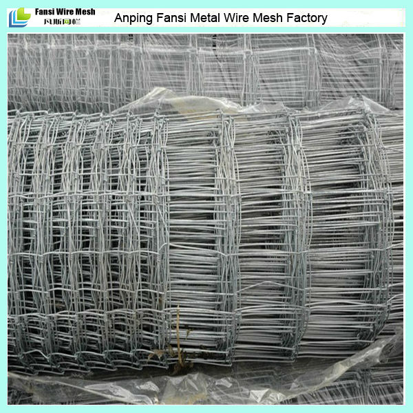 stainless steel hinge-lock stretching galvanized wire mesh pasture fence