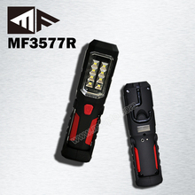 8 + 1 SMD Portable Rechargeable Led Magnetic Car Work Light 12v Charger