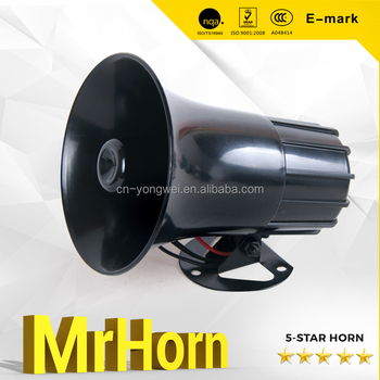 3 sounds or 6 sounds auto siren electronic horn