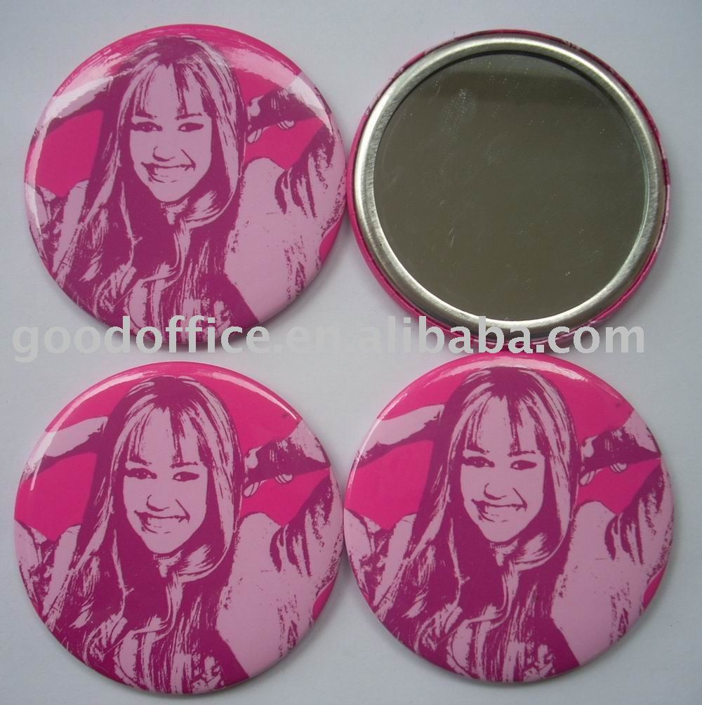 Beautiful girl or lady promotional gifts - Single pocket mirror