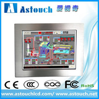 ASTOUCH 19inch embeded panel mount water proof touch screen industrial computer/ce fcc rohs