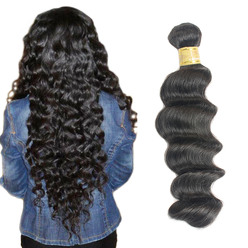 7A Top Grade Alibaba Express Wholesale Indian Deep Wave, Unprocessed Remy Indian Hair <strong>Weave</strong>