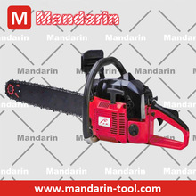 MANDARIN - 1- Cylinder, 2-Stroke, Air-cooling, 62CC, Petrol/gasoline type chain saw, wood saw, tree cutting saw