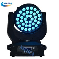 Top Quality 36x10w 4in1 RGBW Zoom Led Moving Head Wash Light Disco Lighting