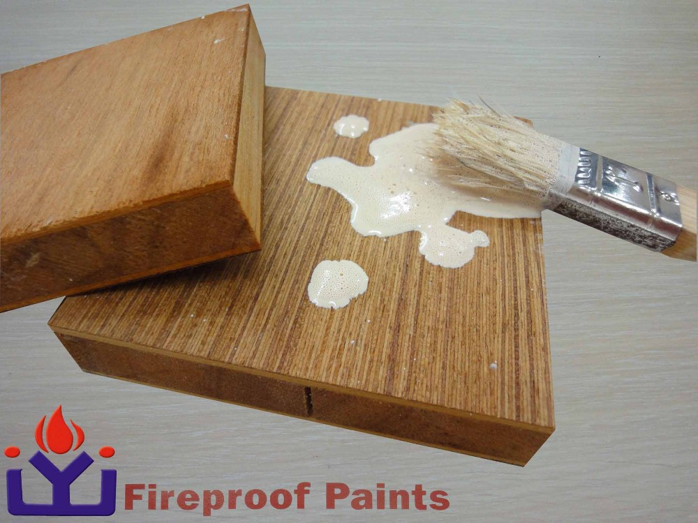 Water-based Wooden Flame Resistant <strong>Paint</strong>