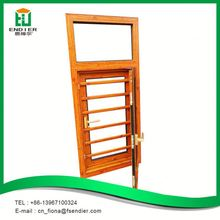 Alibaba china supplier three panel safety casement window grill design