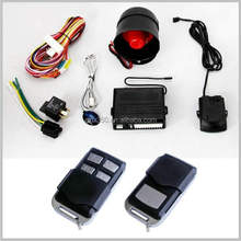 auto security system motorcycle police siren anti-hijacking car alarm for cars wholesale universal remote control car alarms