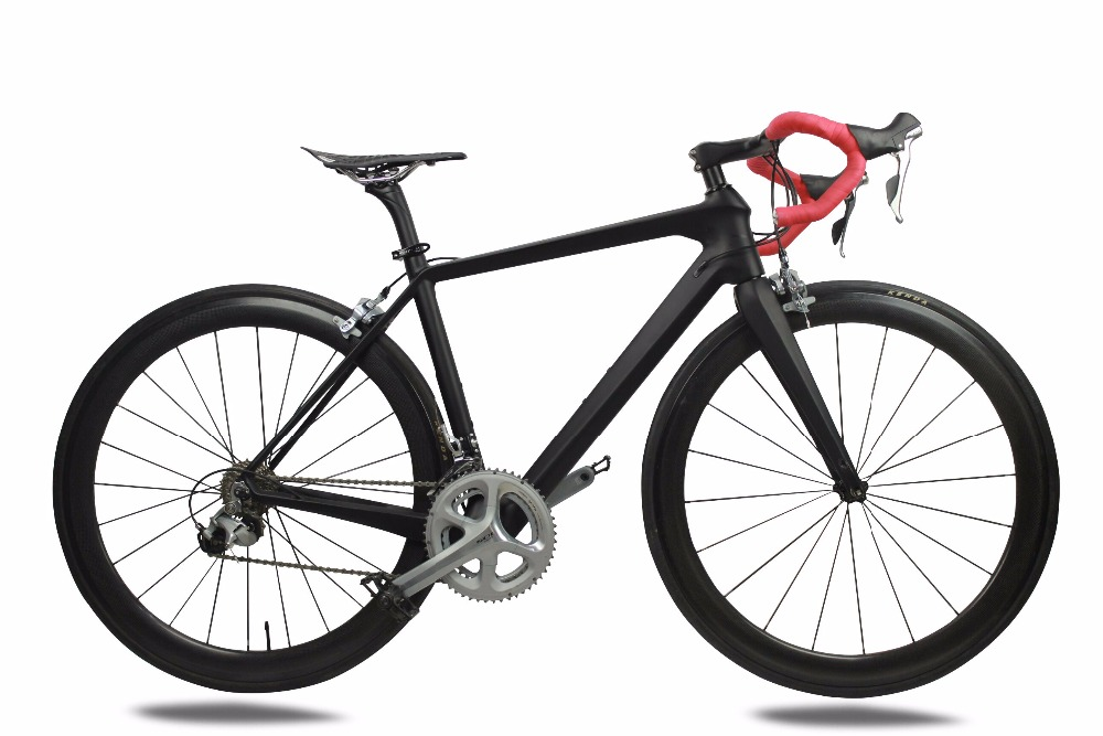 Chinese 700C carbon road bicycle 22 speed carbon road wheel super light racing bike