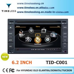 2 Din Car DVD for HYUNDAI Tucson 2006-2009 with built-in GPS, A8 chipset, RDS,BT,3G/Wifi, 20 dics momery (TID-C001)