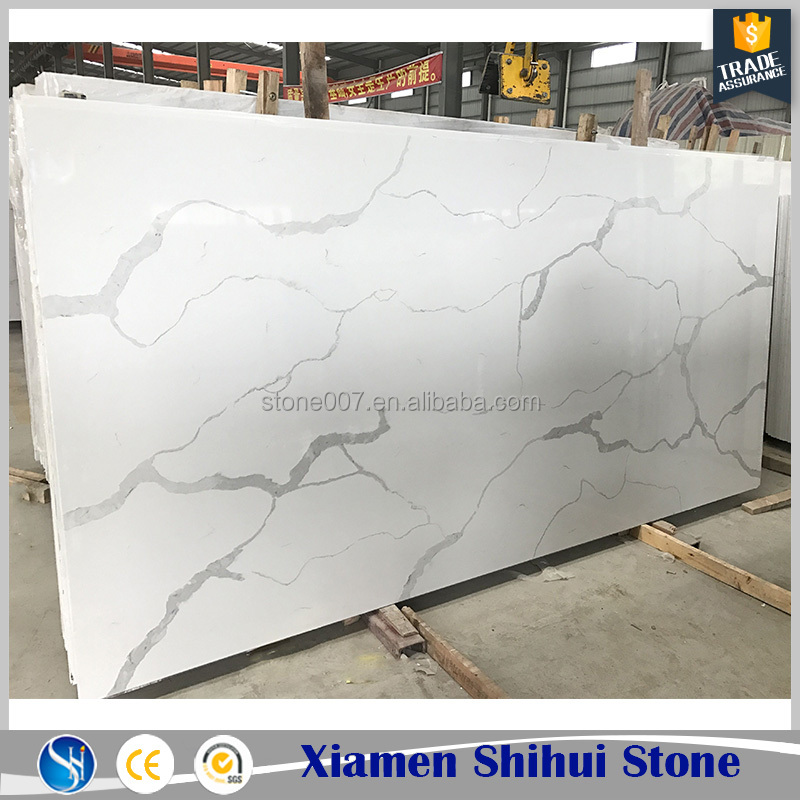 Top Quality Statuary White Quartz Slab