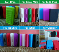 Colorful Silicone Case for Xcube Subox Kbox Eleaf Istick Snowwolf Sigelei Vapor Mod make silicone case