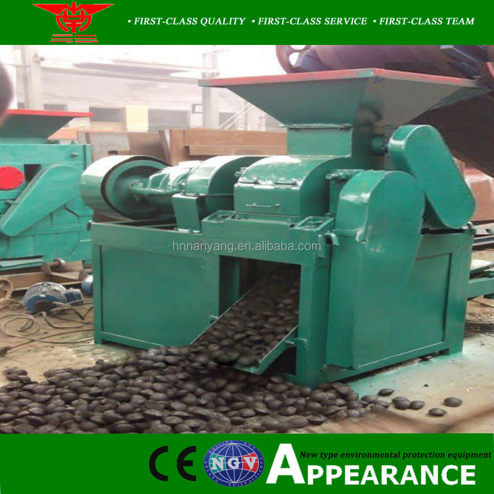 Advanced hot for sale coal dust briquetting press machine for briquette pellet ball making