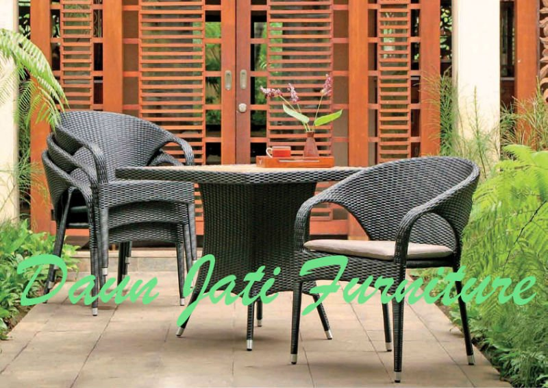 DJ line Furniture Aluminium Rattan Synthetic