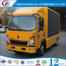 Mobile Roadshow 6mm 8mm 10mm Pixel Pitch Outdoor LED advertising truck