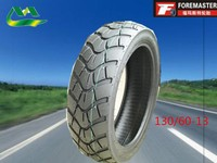 Tubeless motorcycle tyre tire manufacture 130/60-13 in China for sale