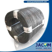 Black Annealed Wire BWG 22 (0.71mm) oiled for Tie Wire in Bangladesh and India