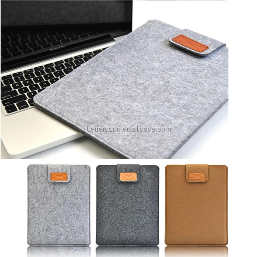"Fashion Woolen Laptop Sleeve Bag Cover Case for Apple MacBook Air Pro 11""13"" 15"""