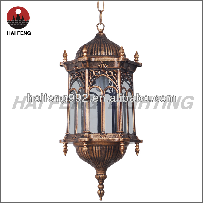 copper hanging light outdoor IP44 droplight