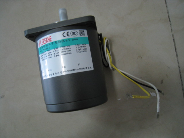SESAME 40W Induction Motor 5IK40A-C Sesame Taiwan Made Motor Lead-Wire TYPE-IP22